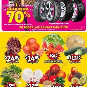 Ofertas en Frutas y Verduras Soriana Mercado del 6 al 8 de Junio 2021