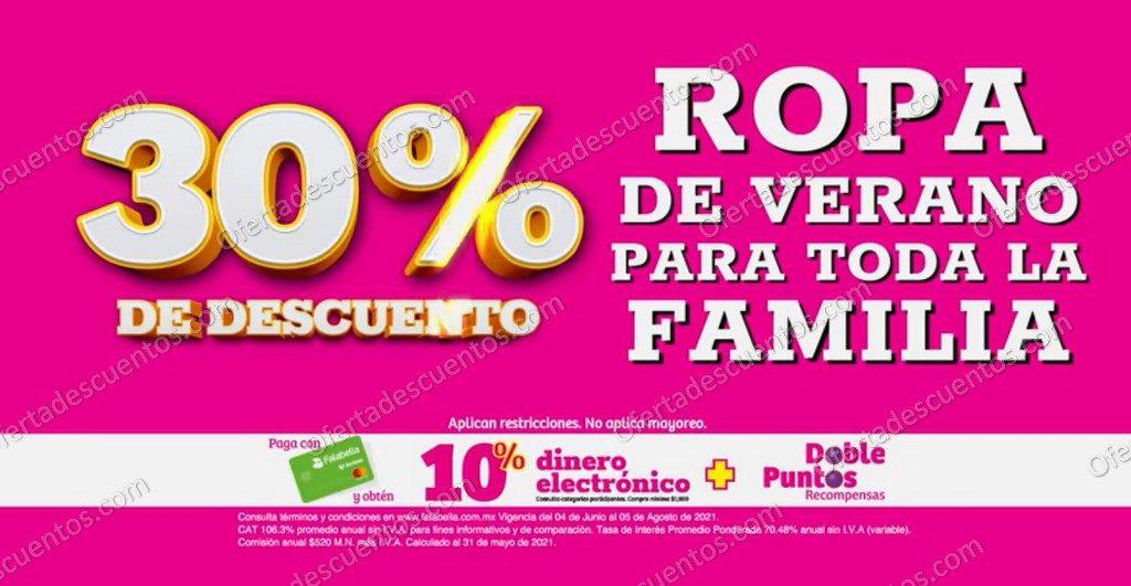 Oferta Estelar Julio Regalado 2021 Soriana: 30% de Descuento en Ropa de Verano