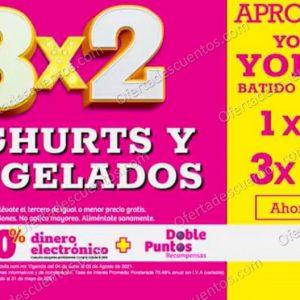 Oferta Estelar Julio Regalado 2021 Soriana: 3×2 en Todo el Yoghurt y Congelados