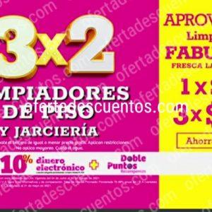 Oferta Estelar Julio Regalado 2021 Soriana: 3×2 en Limpiadores de Piso y Jarciería