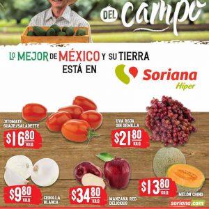Ofertas en Frutas y Verduras Soriana 6 y 7 de Junio 2021