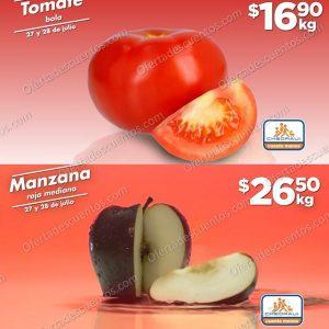 Ofertas en Frutas y Verduras Chedraui 27 y 28 de Julio 2021