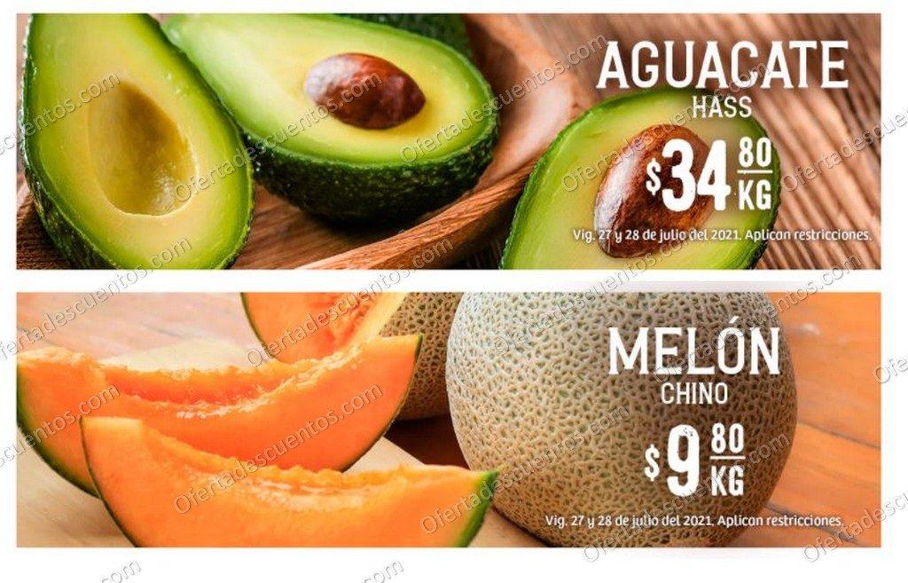 Ofertas en Frutas y Verduras Soriana Hiper 27 y 28 de Julio 2021