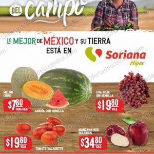 Ofertas en Frutas y Verduras Soriana del 20 al 21 de Julio 2021