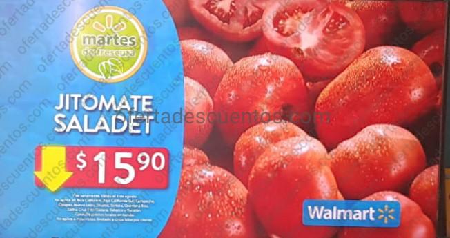 Ofertas en Frutas y Verduras Martes de Frescura Walmart 3 de Agosto 2021