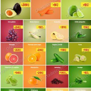 Ofertas en Frutas y Verduras Chedraui 31 de Agosto y 1 de Septiembre