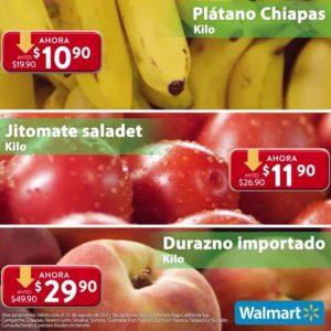 Ofertas Frutas y Verduras Martes de Frescura Walmart 31 de Agosto 2021
