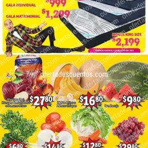Ofertas en Frutas y Verduras Soriana Mercado del 3 al 5 de Agosto 2021