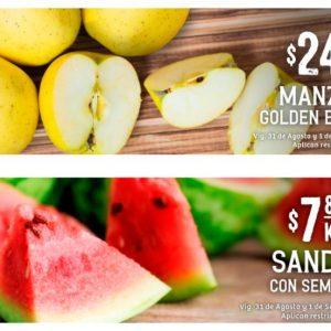 Ofertas en Frutas y Verduras Soriana del 31 de Agosto y 1 de Septiembre 2021
