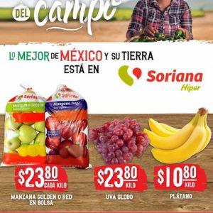 Ofertas en Frutas y Verduras Soriana Hiper 7 y 8 de Septiembre 2021