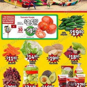 Ofertas en Frutas y Verduras Soriana Mercado 21 y 22 de Septiembre 2021