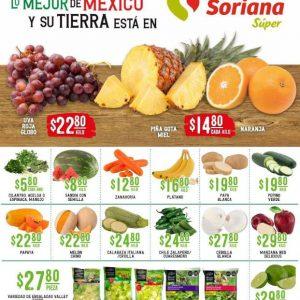 Ofertas en Frutas y Verduras Soriana Super 21 y 22 de Septiembre 2021