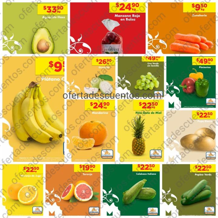 Ofertas en Frutas y Verduras Chedraui 12 y 13 de Octubre 2021