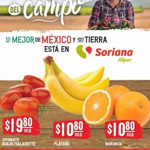 Ofertas en Frutas y Verduras Soriana 12 y 13 de Octubre 2021
